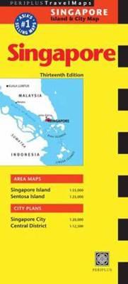 Singapore Travel Map