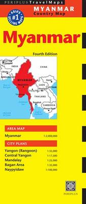 Myanmar Travel Map