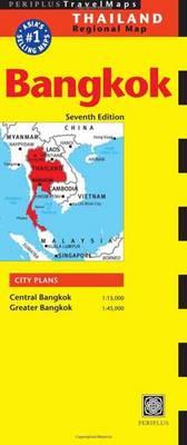 Bangkok Travel Map Seventh Edition