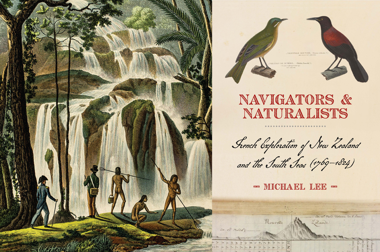 Interview: Michael Lee on writing Navigators and Naturalists