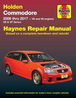 HM Holden Commodore VE VF Petrol 2006-17