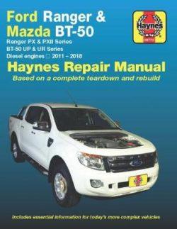 Ford Ranger / Mazda BT-50 Diesel 2011-2017 Haynes Repair Manual