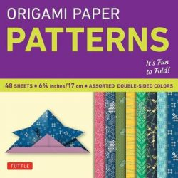 Origami Paper – Patterns – Small 6 3/4″ – 49 Sheets: Tuttle Origami Paper: High-Quality Origami Sheets Printed with 8 Different Designs: Instructions for 6 Projects Included