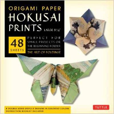 Origami Paper Hokusai Prints (Large 8 1/4