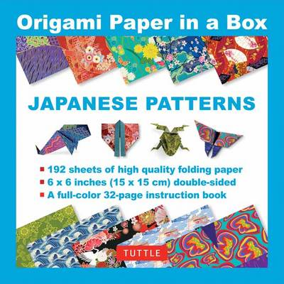 Origami Paper in a Box: Japanese Patterns
