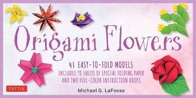 Origami Flowers Kit: 41 Easy-to-fold Models – Includes 98 Sheets of Special Folding Paper: Great for Kids and Adults!