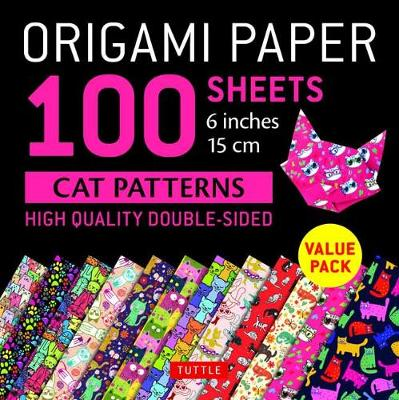 Origami Paper 100 sheets Cat Patterns 6 (15 cm)