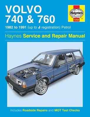 Volvo 740 & 760 Petrol 1982-1991 Repair Manual