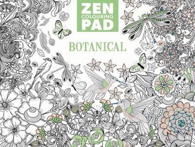 Zen Colouring Pad – Botanical