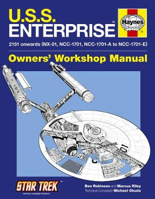 U.S.S. Enterprise Manual: 2151 onwards (NX-01, NCC-1701, NCC-1701-A to NCC-1701-E)