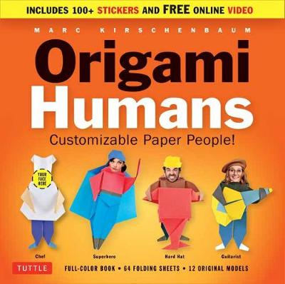 Origami Humans Kit: Customizable Paper People!