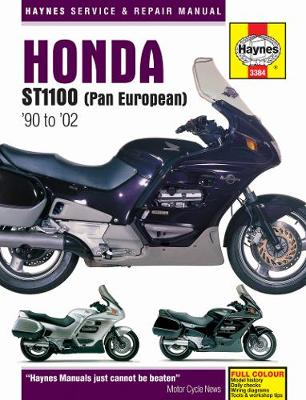 Honda St1100 Pan European V-Fours Service And Repa