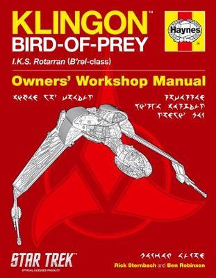 Klingon Bird-Of-Prey Manual: IKS <i>Rotarran<i> (<i>B'rel</i>-class)