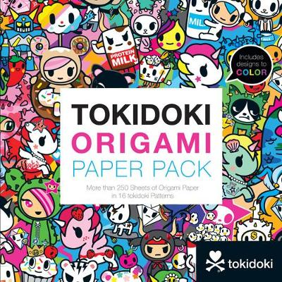 tokidoki Origami Paper Pack: More than 250 Sheets of Origami Paper in 16 tokidoki Patterns