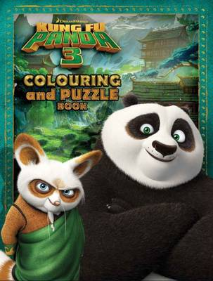 Kung Fu Panda 3 Colouring & Puzzle Book