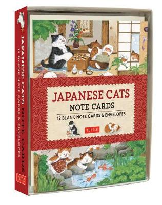Japanese Cats Note Cards: 12 Blank Note Cards and Envelopes