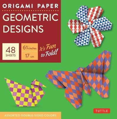 Origami Paper Geometric Prints: It's Fun to Fold!