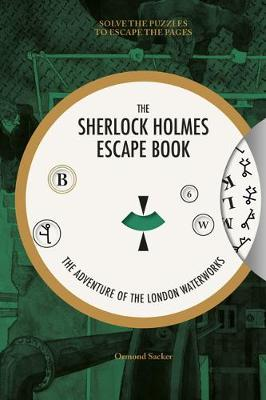 Sherlock Holmes Escape Book: Solve the Puzzles to Escape the Pages