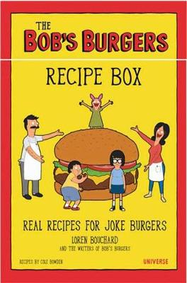 Bob's Burgers Burger Recipe Box