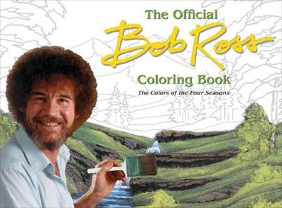 Bob Ross: The Four Seasons Coloring Book