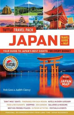 Japan Travel Guide and Map Tuttle Travel Pack