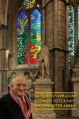 Queen's Window at Westminster Abbey by David Hockney