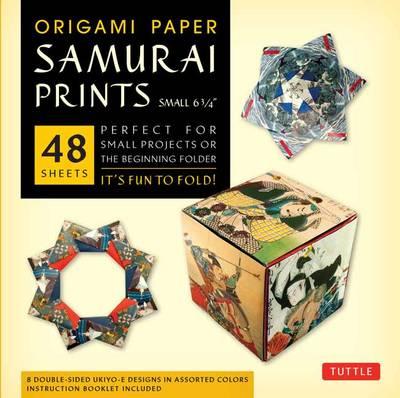 Origami Paper Samurai Print Small: It's Fun to Fold!