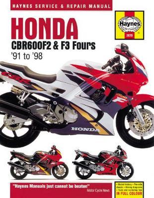 Honda CBR600F2 & F3 Fours 1991-1998 Repair Manual