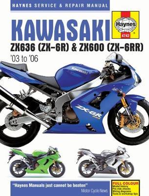 Kawasaki Ninja ZX-6R & ZX-6RR 2003-2006 Repair Manual