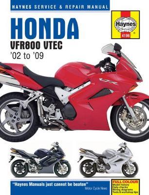 Honda VFR800 VTEC 782cc 2002-2009 Repair Manual