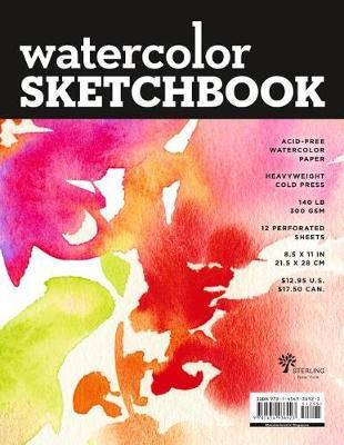 Watercolour Sketchbook Large Black Fliptop Spiral landscape