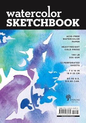 Watercolour Sketchbook Medium Black Fliptop Spiral Landscape
