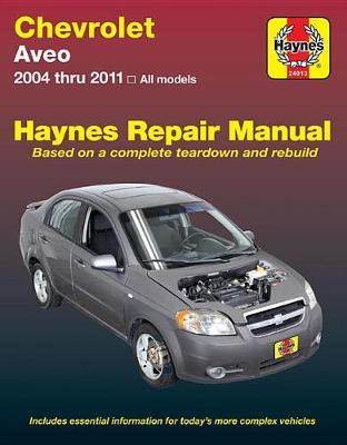 Chevrolet Aveo/Holden Barina 2004-2011 Repair Manual