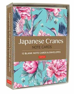Japanese Cranes Note Cards: 12 Blank Note Cards and Envelopes