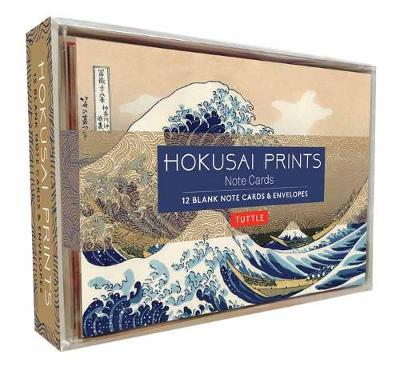 Hokusai Prints Note Cards: 12 Blank Note Cards and Envelopes