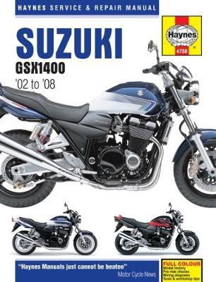 Suzuki GSX1400 2002-2008 Repair Manual