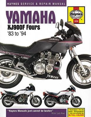 Yamaha XJ900F Fours covering 853cc & 891cc 1983-1994 Repair Manual