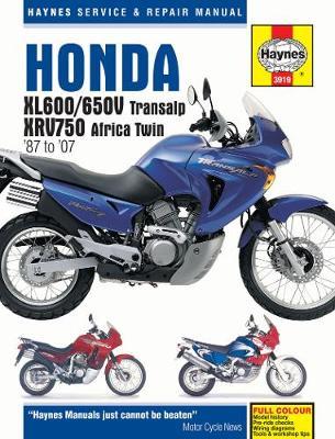 Honda XL600/650V/XVR750/XL600V/650V/XRV750 1987-2007 Repair Manual