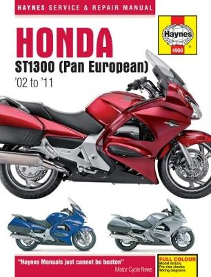 Honda ST1300 Pan European: (02 – 11)