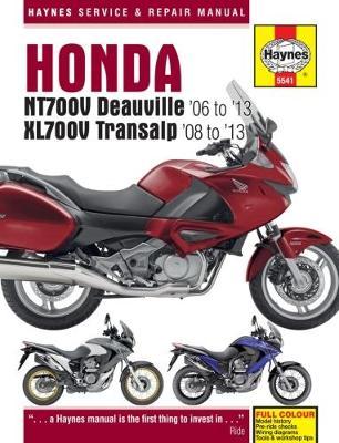 Honda NT700V Deauville & XL700V Transalp 2006-2013 Repair Manual
