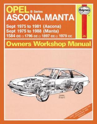 Opel Ascona 1975-1981 & Manta 1975-1988 Repair Manual