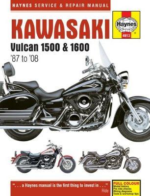 Kawasaki Vulcan 1500 87-08& 1600 2003-2008 Repair Manual
