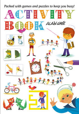 Alain Gree Activity Book