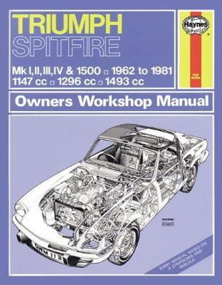 Triumph Spitfire Mk I, II, III, IV & 1500 1962-1981 Repair Manual
