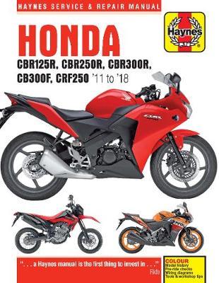 Honda CBR125/250R/CRF250L/M 2011-2014 Repair Manual
