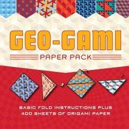 Geo-Gami Paper Pack: Basic Fold Instructions Plus More Than 400 Sheets of Origami Paper