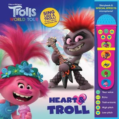 Trolls 2 World Tour – Heart & Troll – Voice Changing Microphone