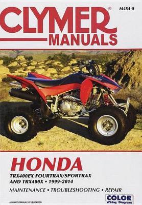 Honda TRX400EX FourTrax/SportTrax & TRX400X 1999-2014 Repair Manual