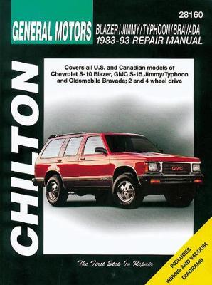Chevrolet Blazer/Jimmy/Typhoon/Bravada (83 – 93)