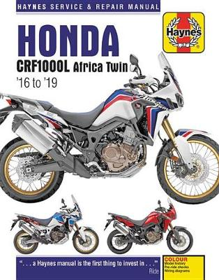 Honda CRF1000L Africa Twin Service & Repair Manual (2016 to 2018)